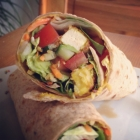 Wraps mit Tofu-Kokos-Curry-Sticks